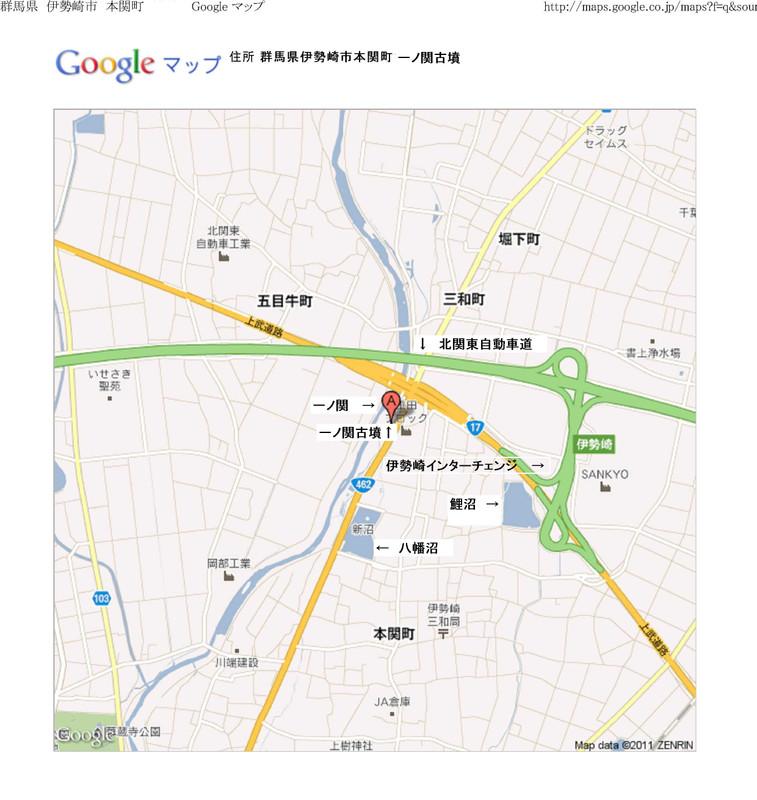 Ichinoseki_kofun_map_2